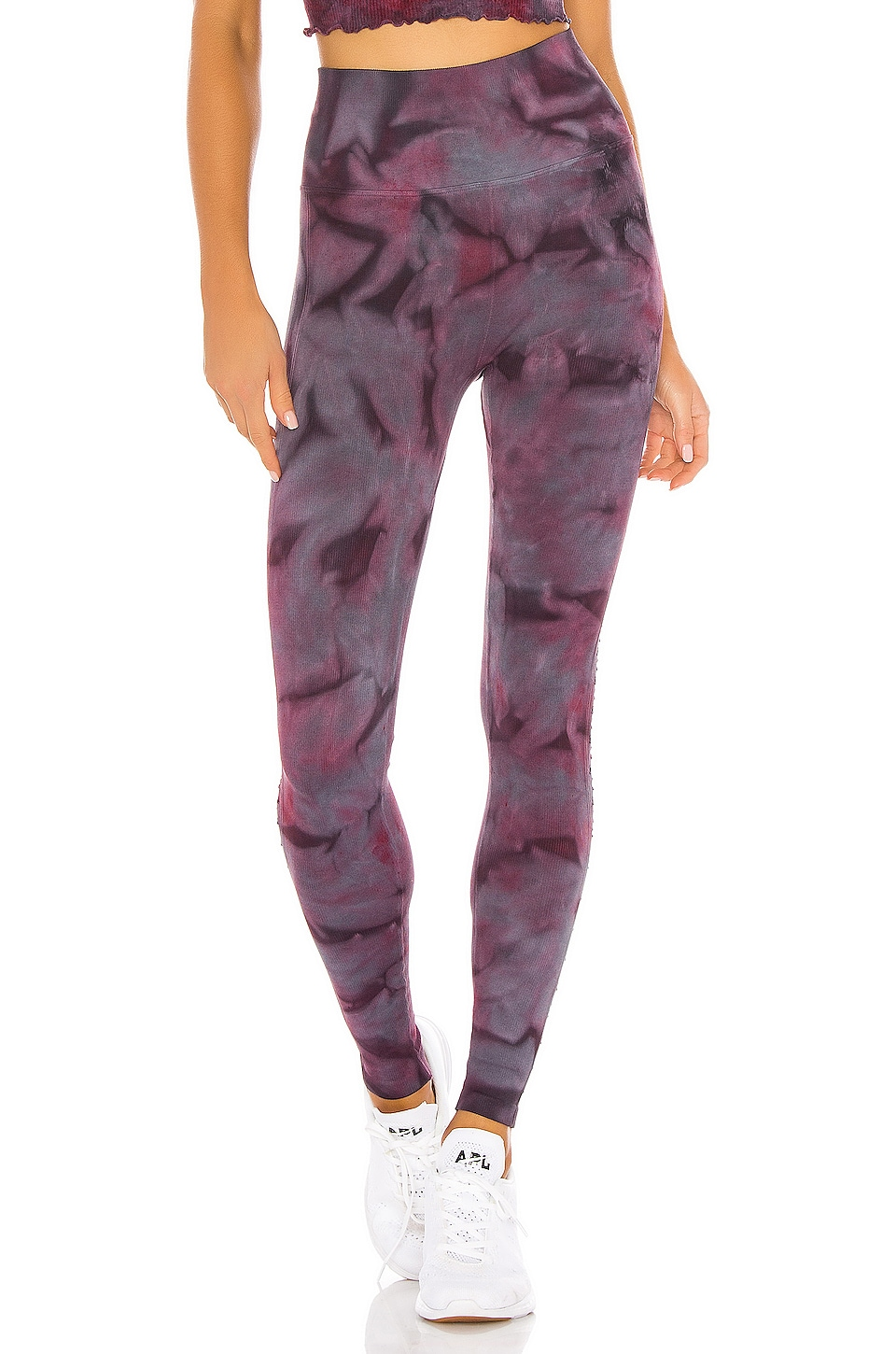 Spiritual Gangster Self Love Legging en Wildberry Galaxy Tie Dye