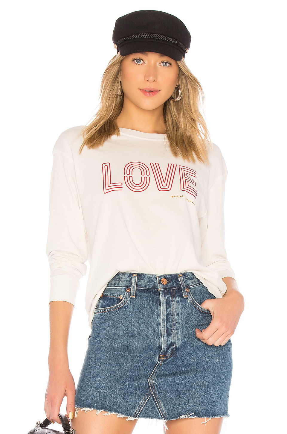 Spiritual Gangster Love Game Changer Tee in Stone