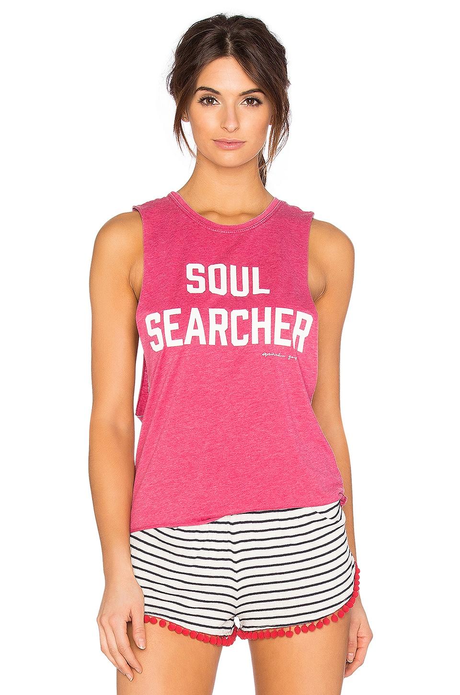 Spiritual Gangster Soul Searcher Burnout Festival Tank in Popsicle