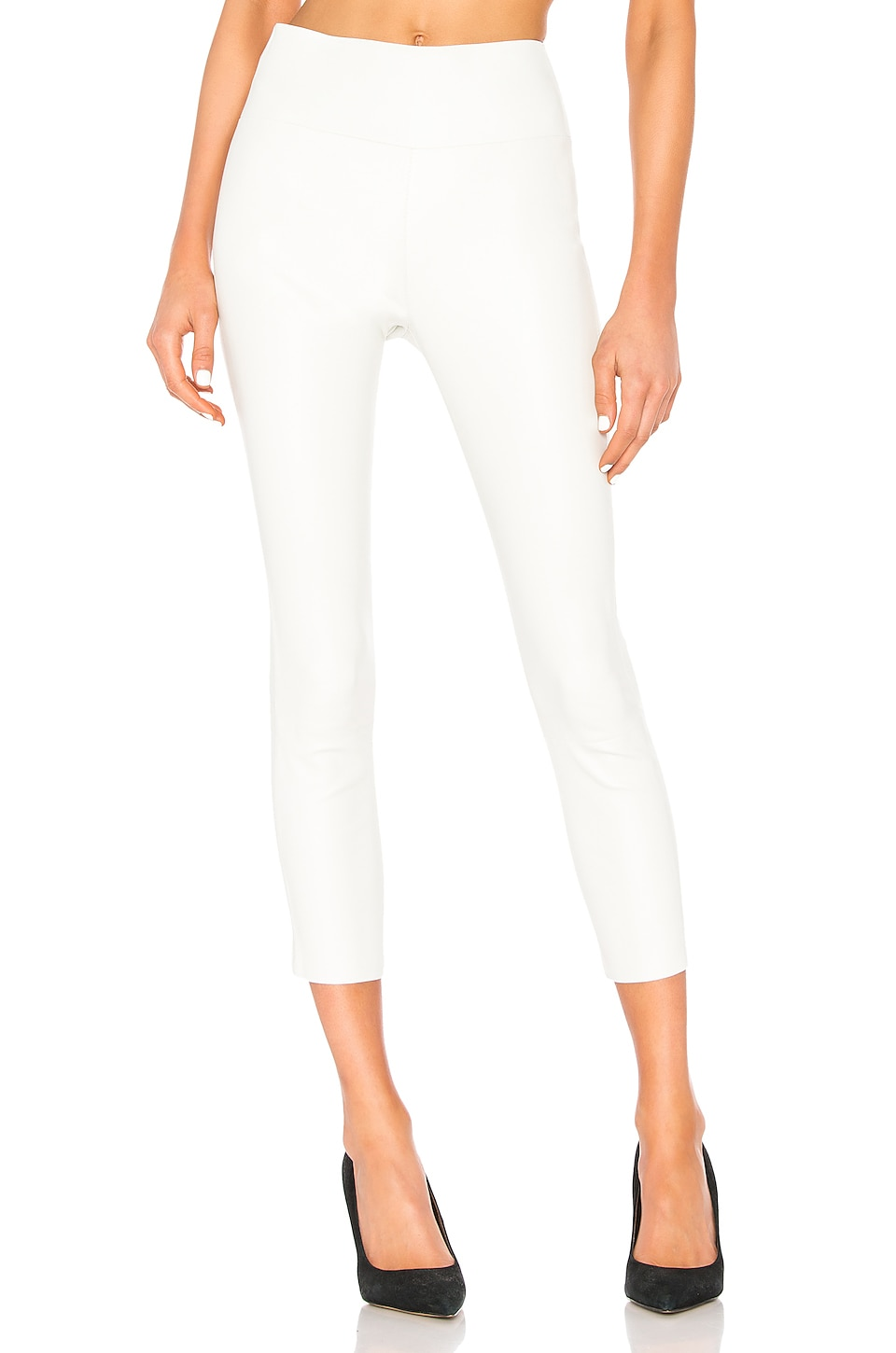 SPRWMN High Waist Leather Legging in Cloud