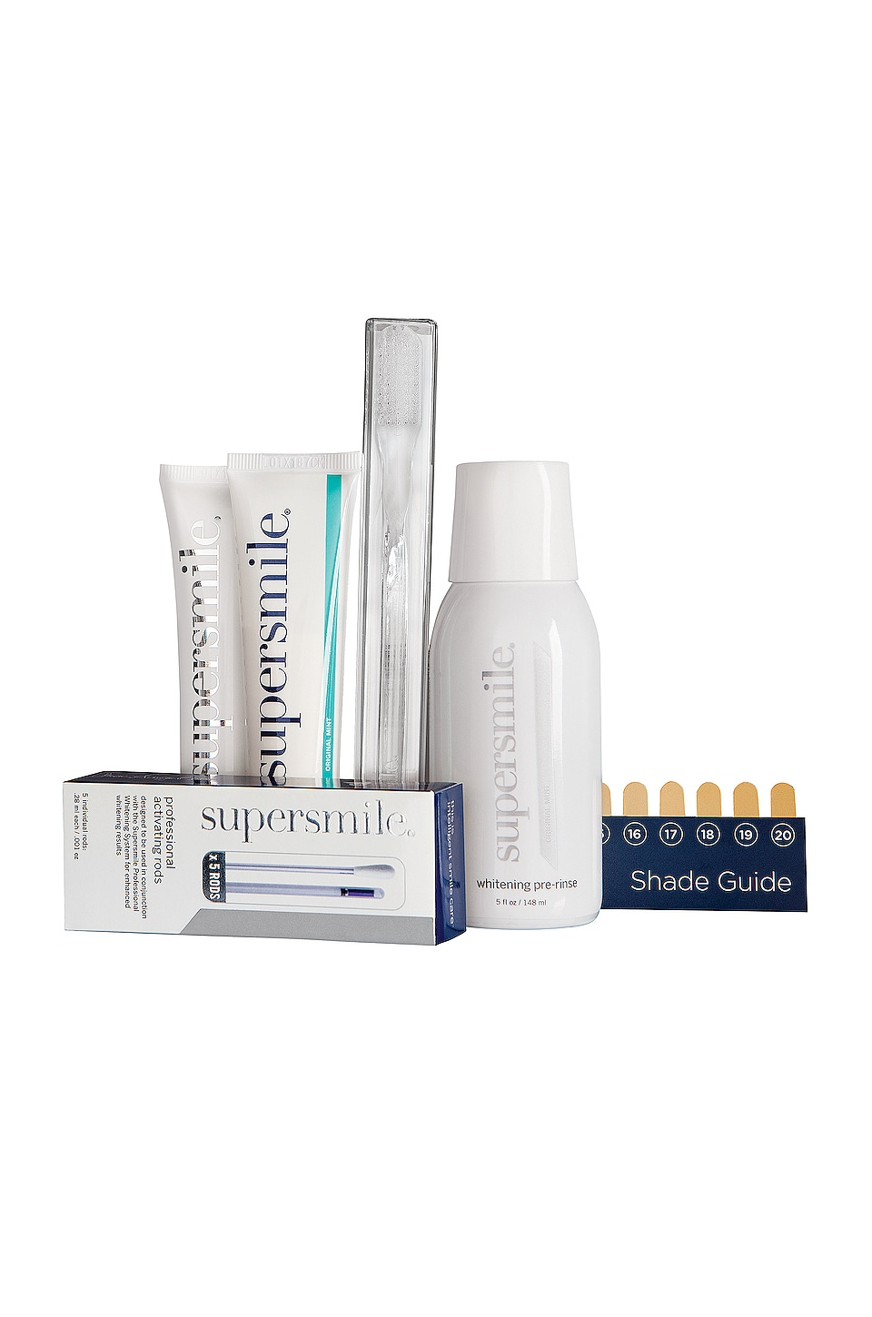 SUPERSMILE 6 MINUTES TO A WHITER SMILE KIT