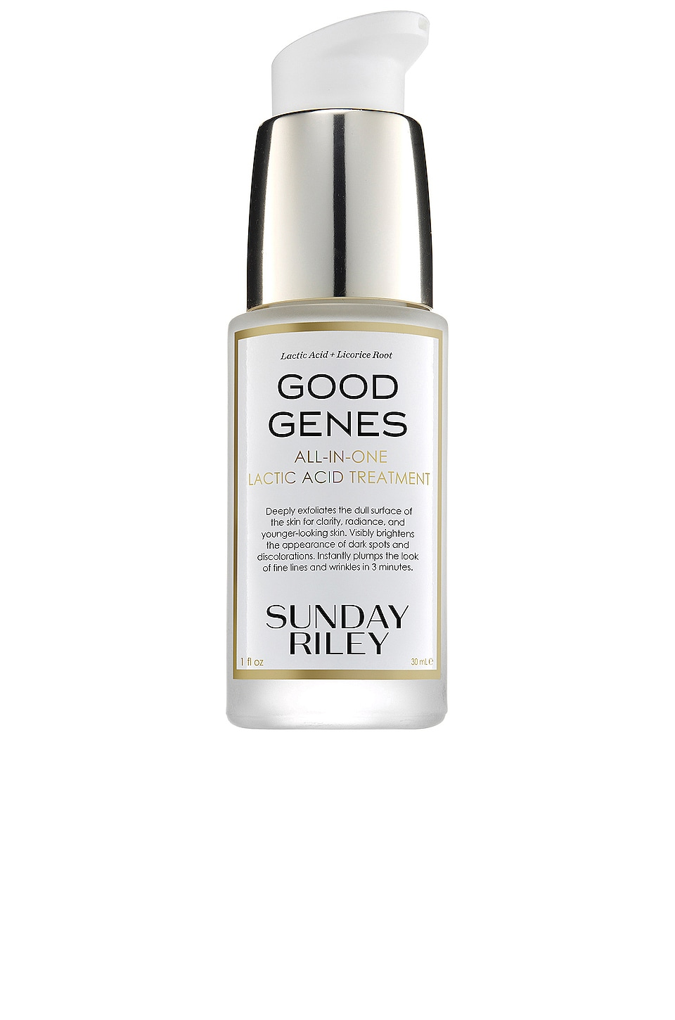 Sunday Riley TRATAMIENTO PARA EL CUIDADO DE LA PIEL TRAVEL GOOD GENES LACTIC ACID TREATMENT