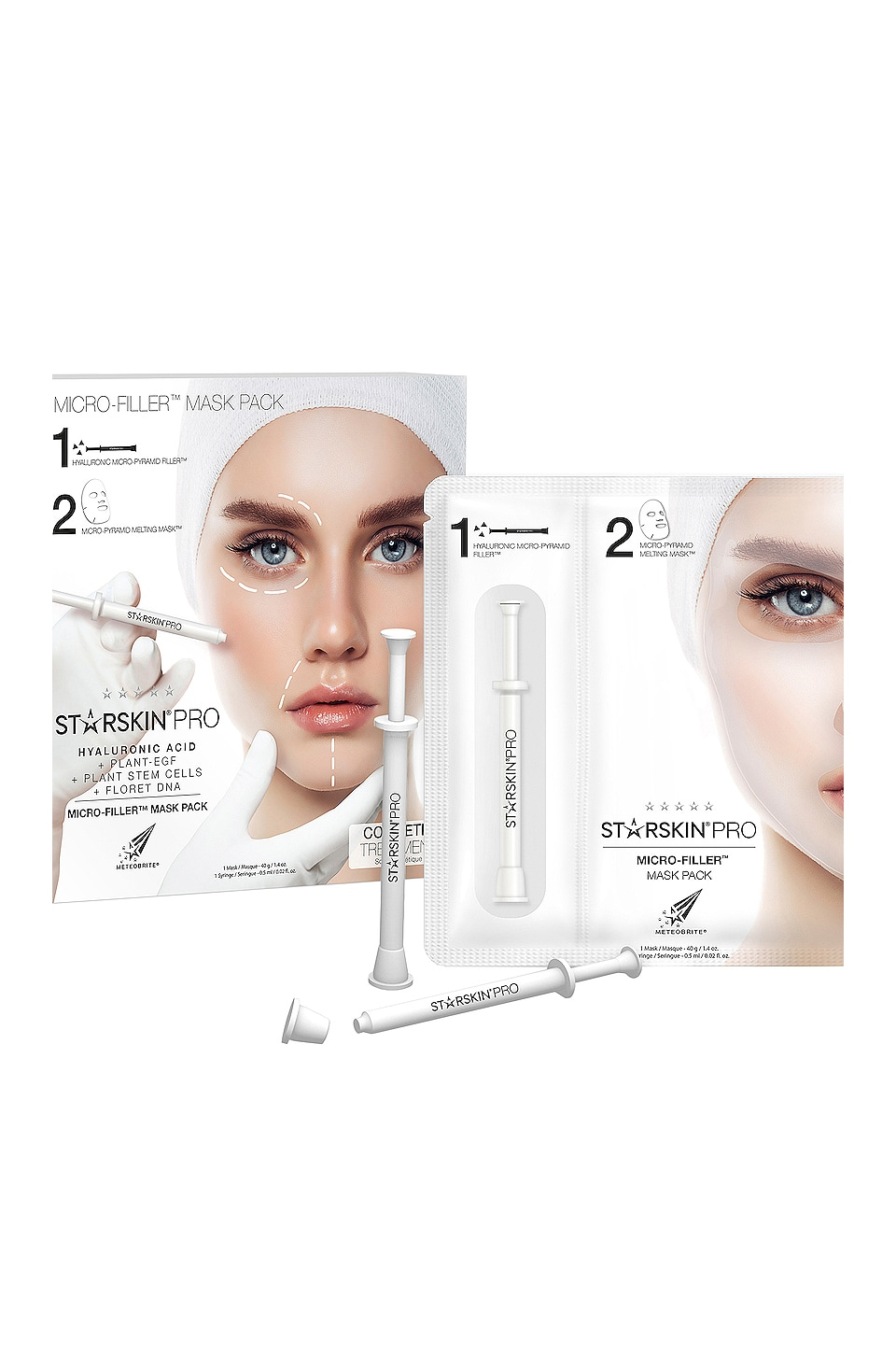 STARSKIN MICRO FILLER MASK PACK
