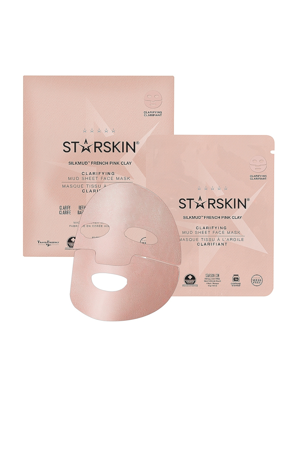 STARSKIN ANTIFAZ SILKMUD PINK CLAY MASK