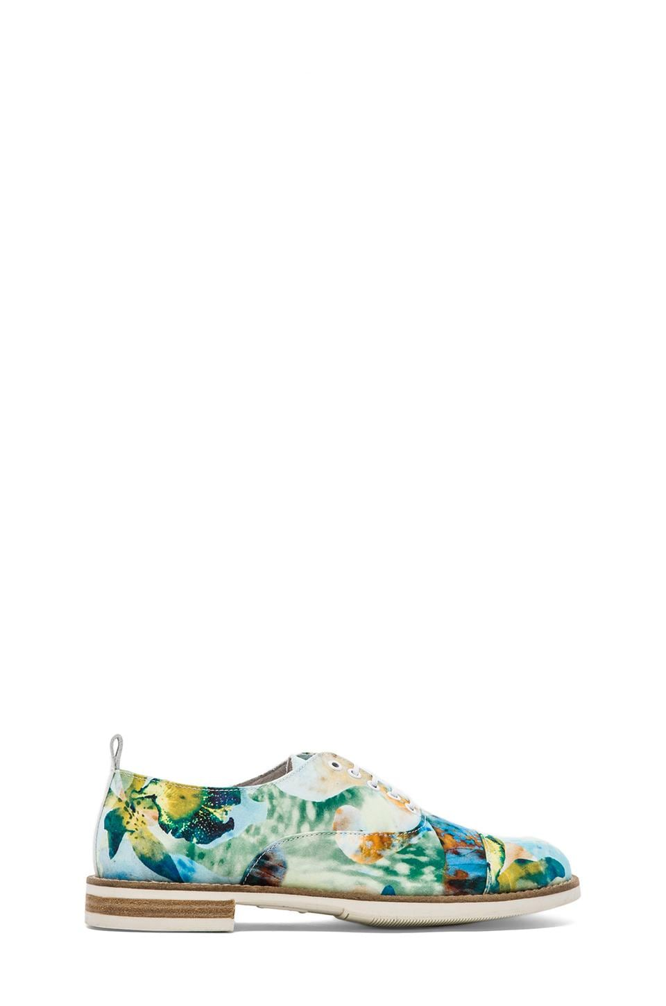 SWEAR Chaplin 1 in Blue Floral