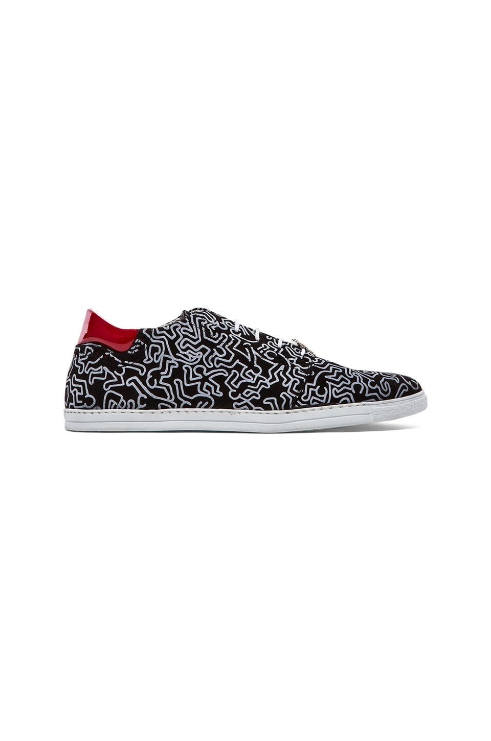 SWEAR x Keith Haring Dean 2 in Black & White
