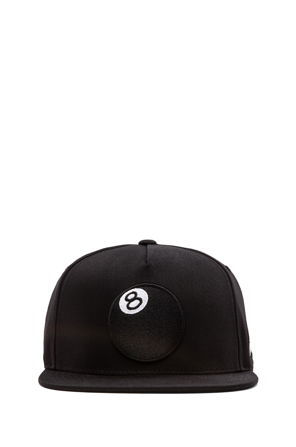 Stussy 8-Ball Snapback in Black