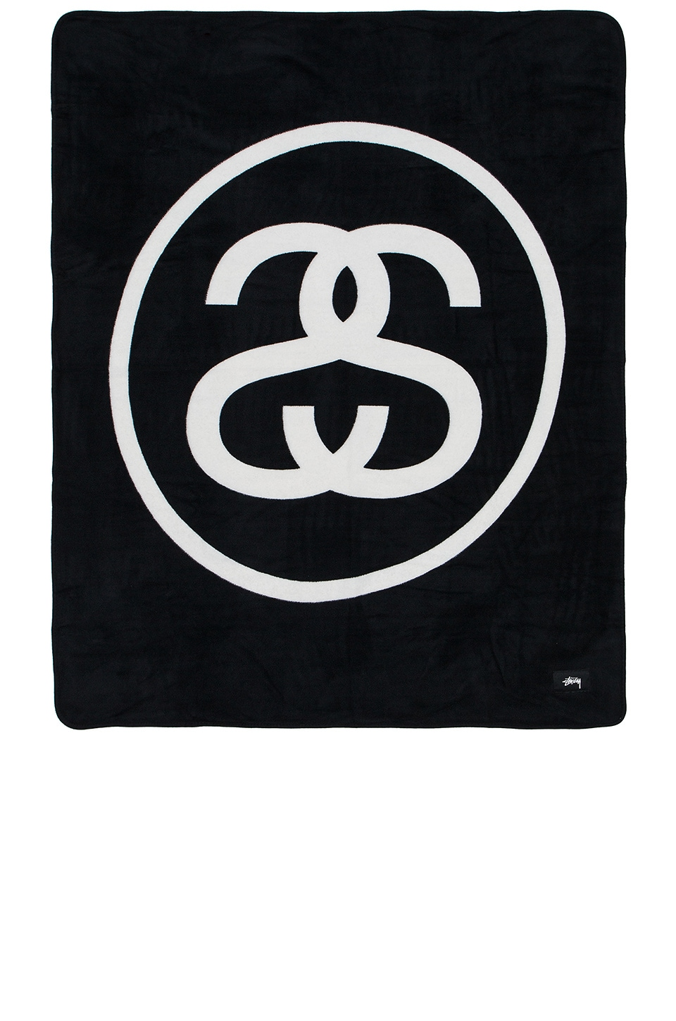 Stussy SS Link Fleece Blanket in Black