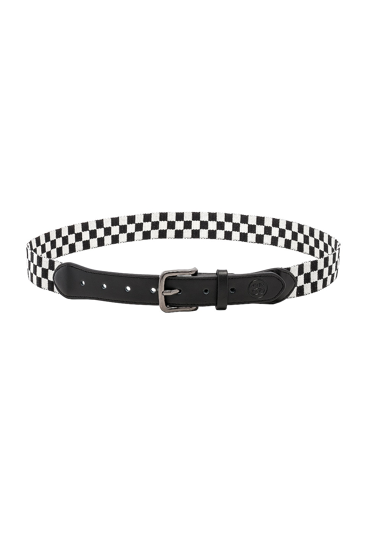 Stussy Checker Belt in Black