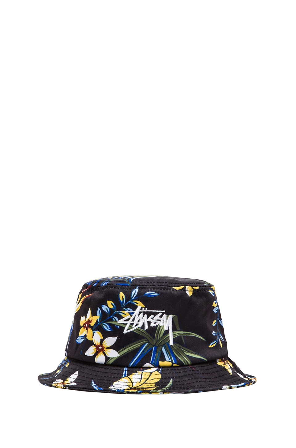 Stussy Paradise Bucket Hat in Black