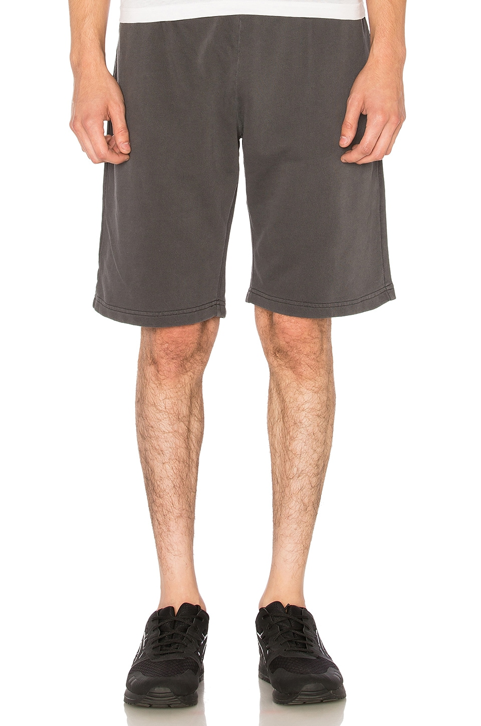 Stussy OD Stock Shorts in Charcoal