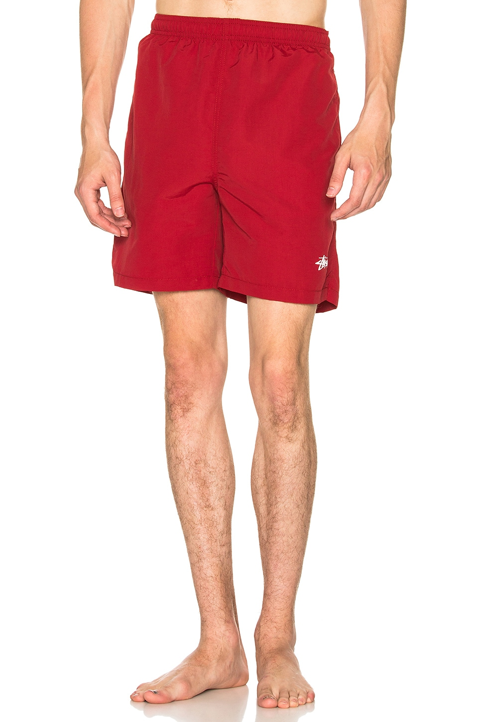 Stussy Stock Water Short in Red