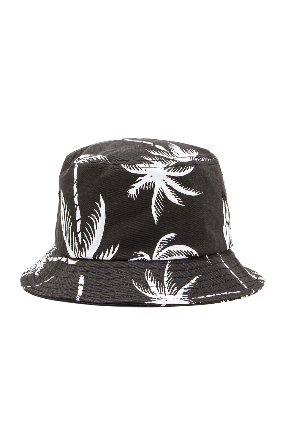 Stussy Palms SU15 Bucket Hat in Black