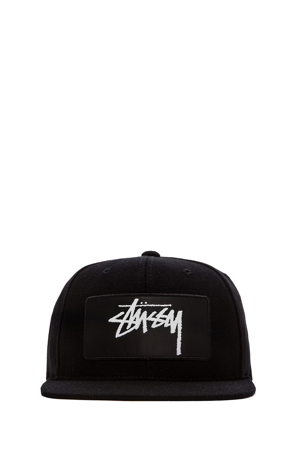 Stussy Lux Patch Strapback in Black