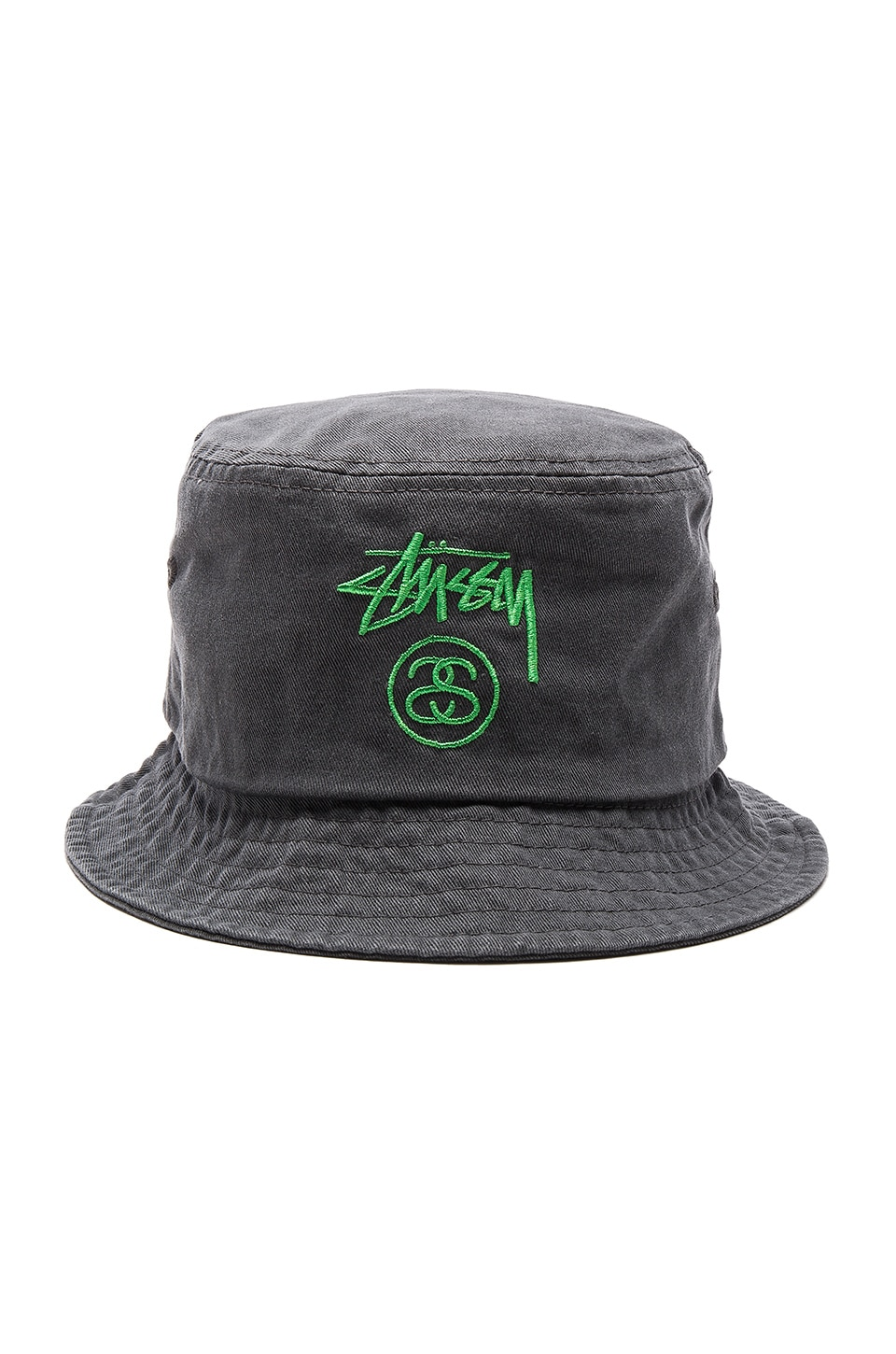 e5d790e7d Stussy Stock Lock Pigment Dye Bucket Hat in Black | REVOLVE