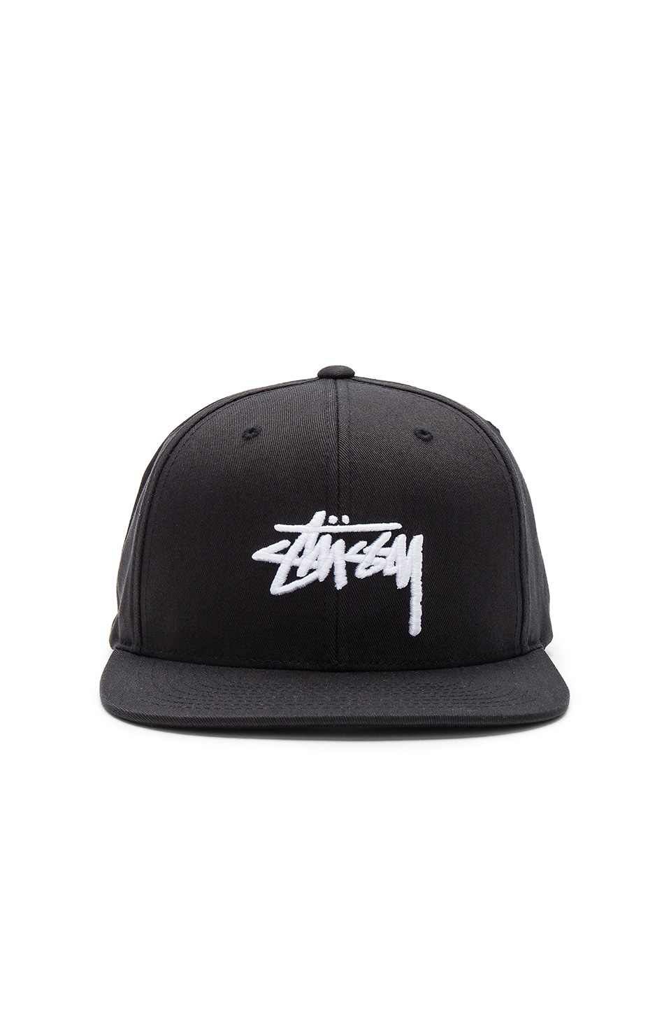 Stussy Stock SP17 Snapback in Black