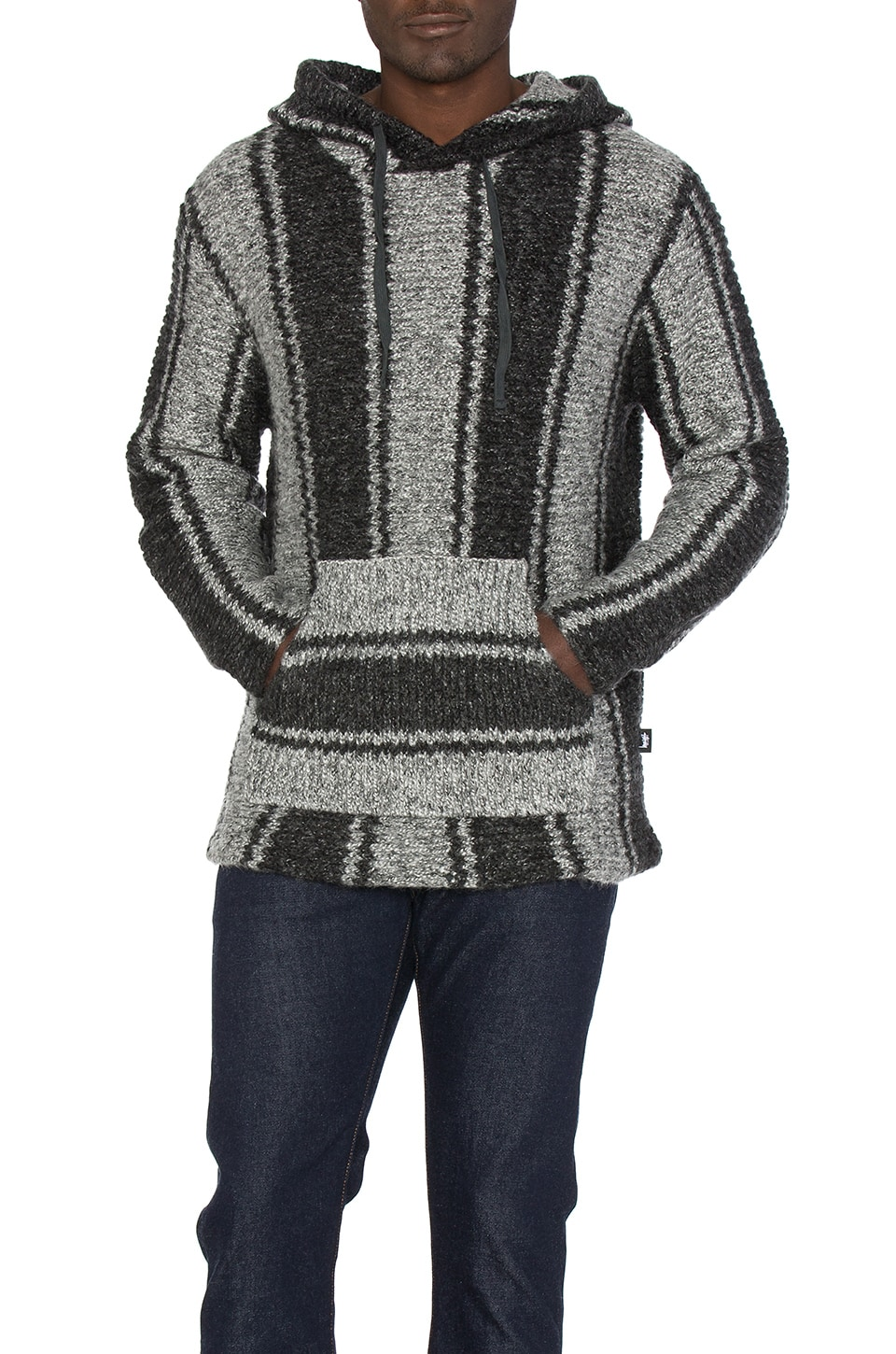 Chunky Knit Drug Rug Sweater by Stussy