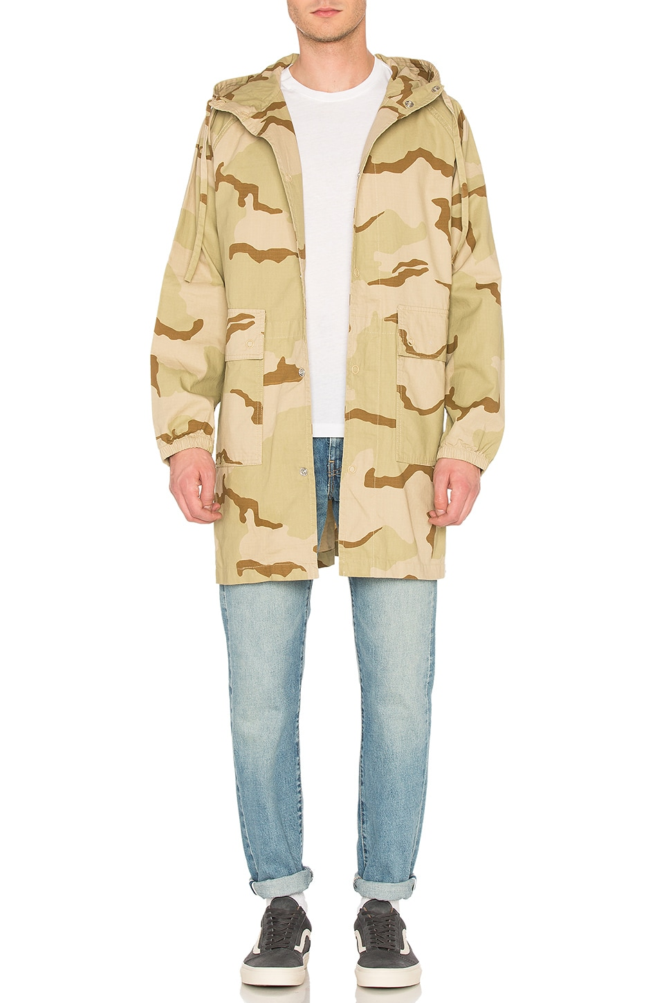 Light Ripstop Hooded Jacket by Stussy