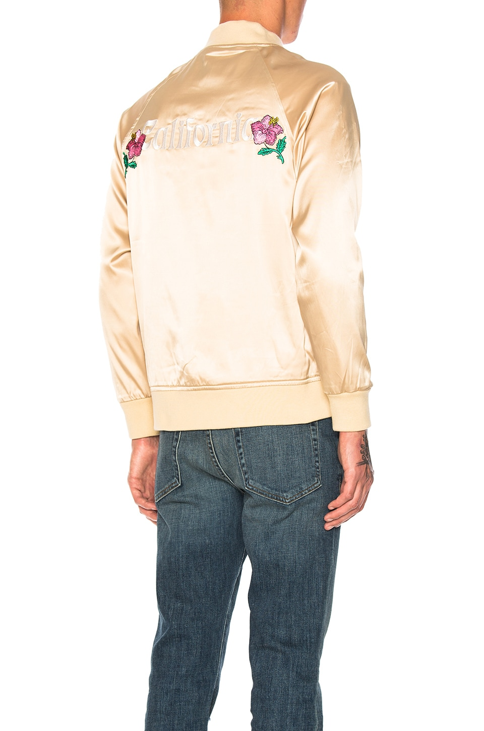 California Satin Jacket by Stussy