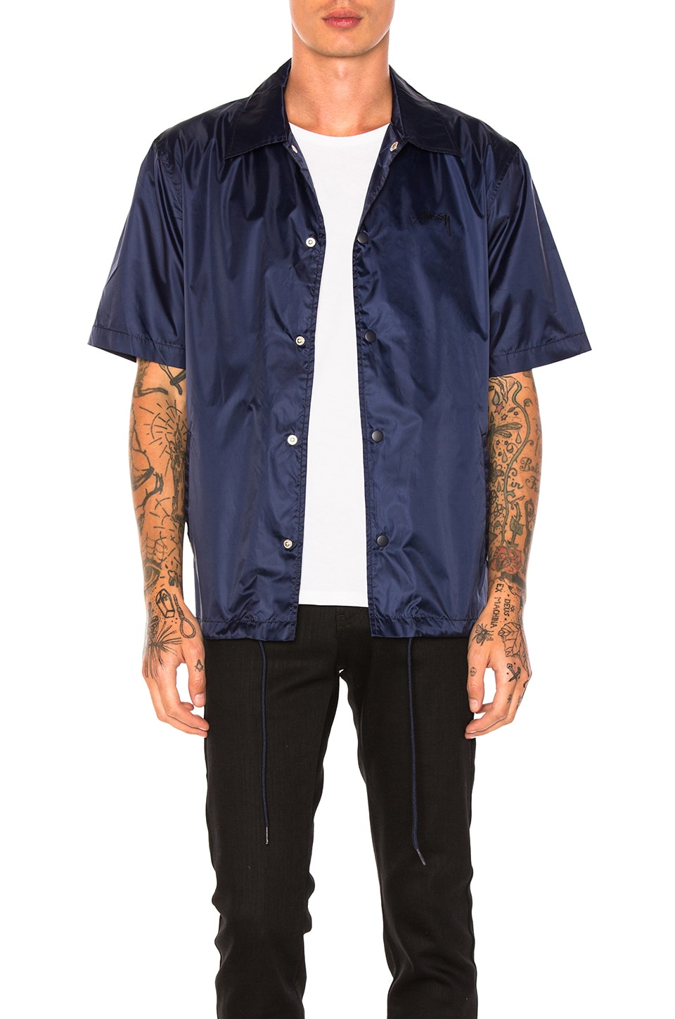 Photo of S/SL Coach Jacket by Stussy men clothes
