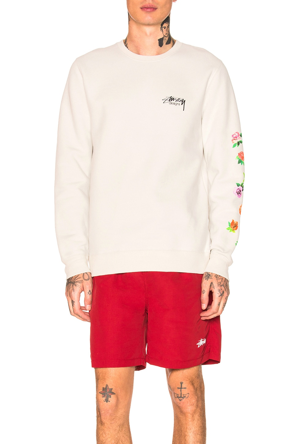 Roses Pullover