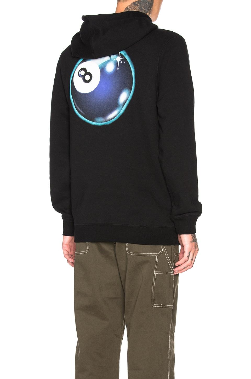 Stussy Mystic 8 Ball Hoodie in Black