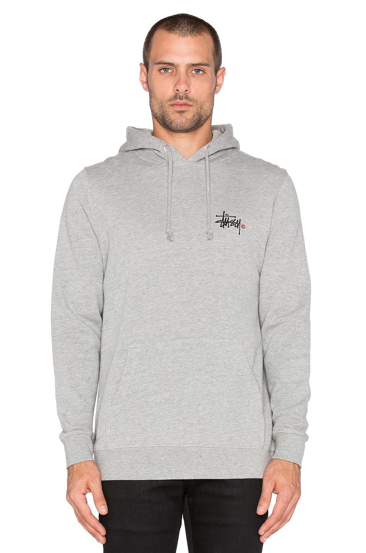 Stussy Basic Logo Hoodie Sweatshirt