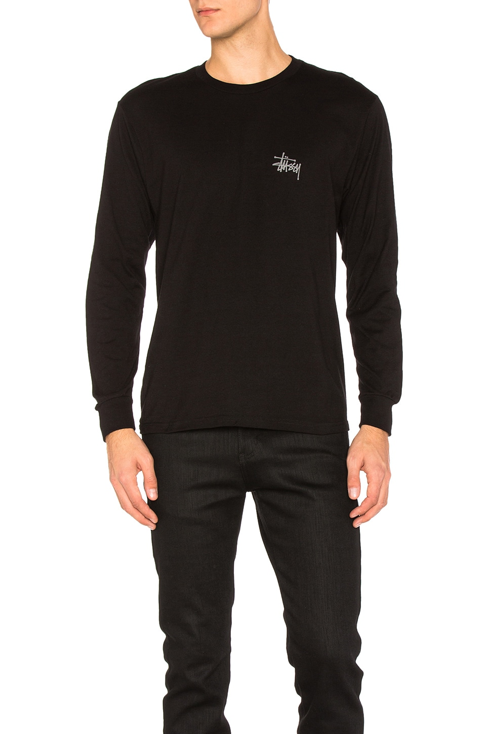 Basic Stussy L/S Tee by Stussy