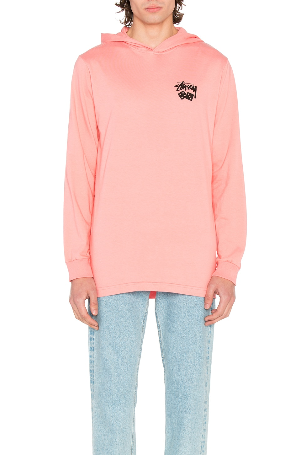 Dice Hooded Tee by Stussy