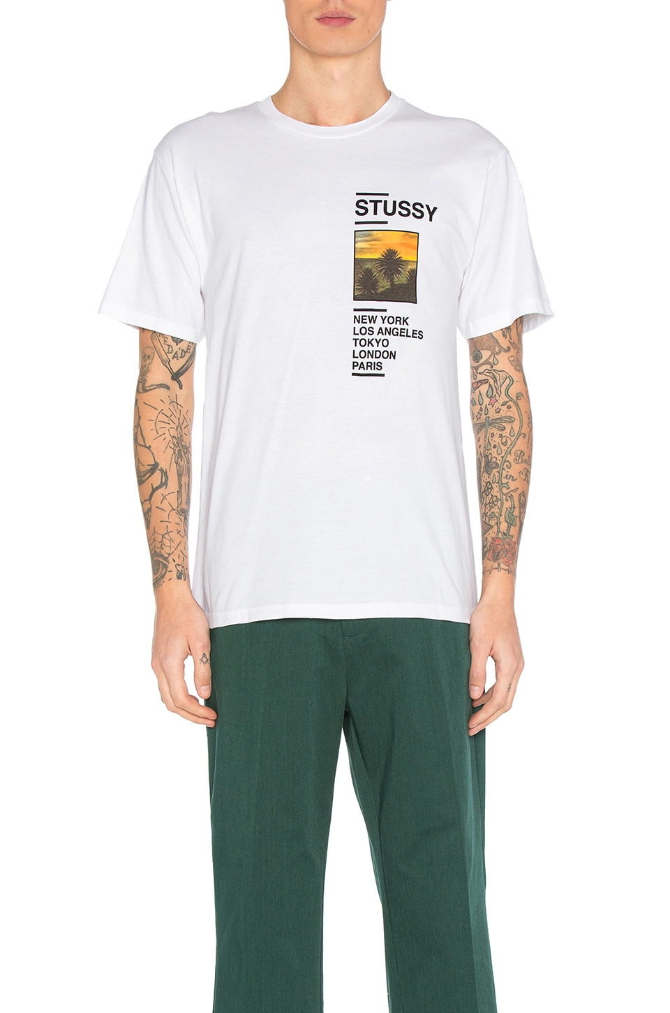 Gold Coast Tee by Stussy