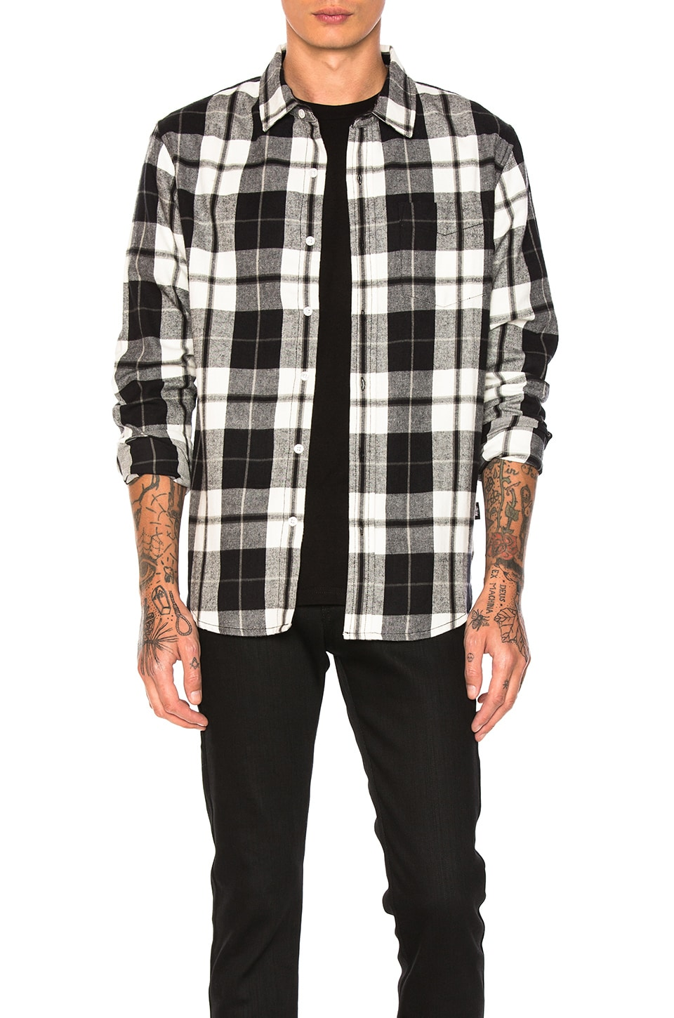 Norfolk Plaid Button Down by Stussy