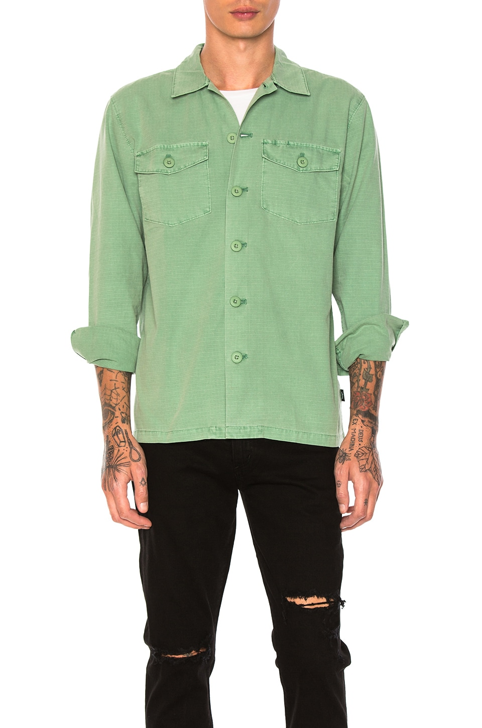 BDU Button Down by Stussy