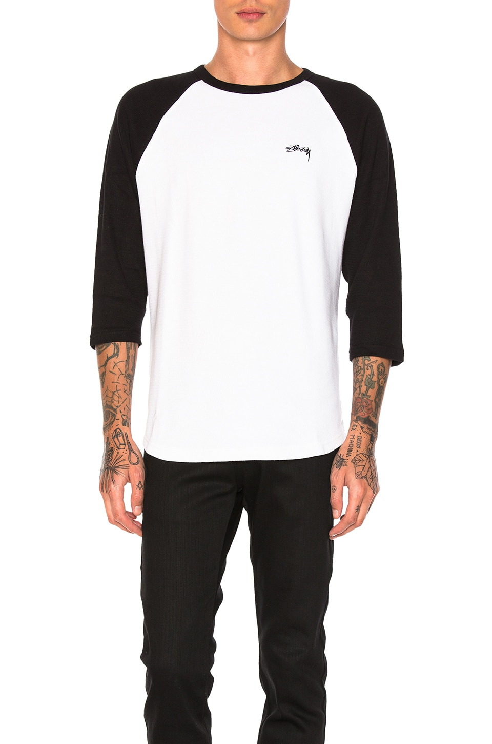 Thermal Raglan Jersey by Stussy