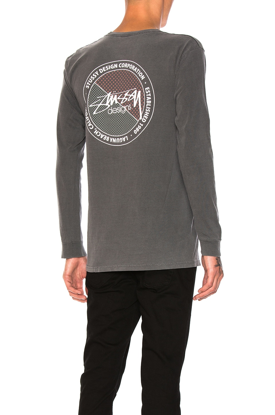 Halftone Dot Tee by Stussy