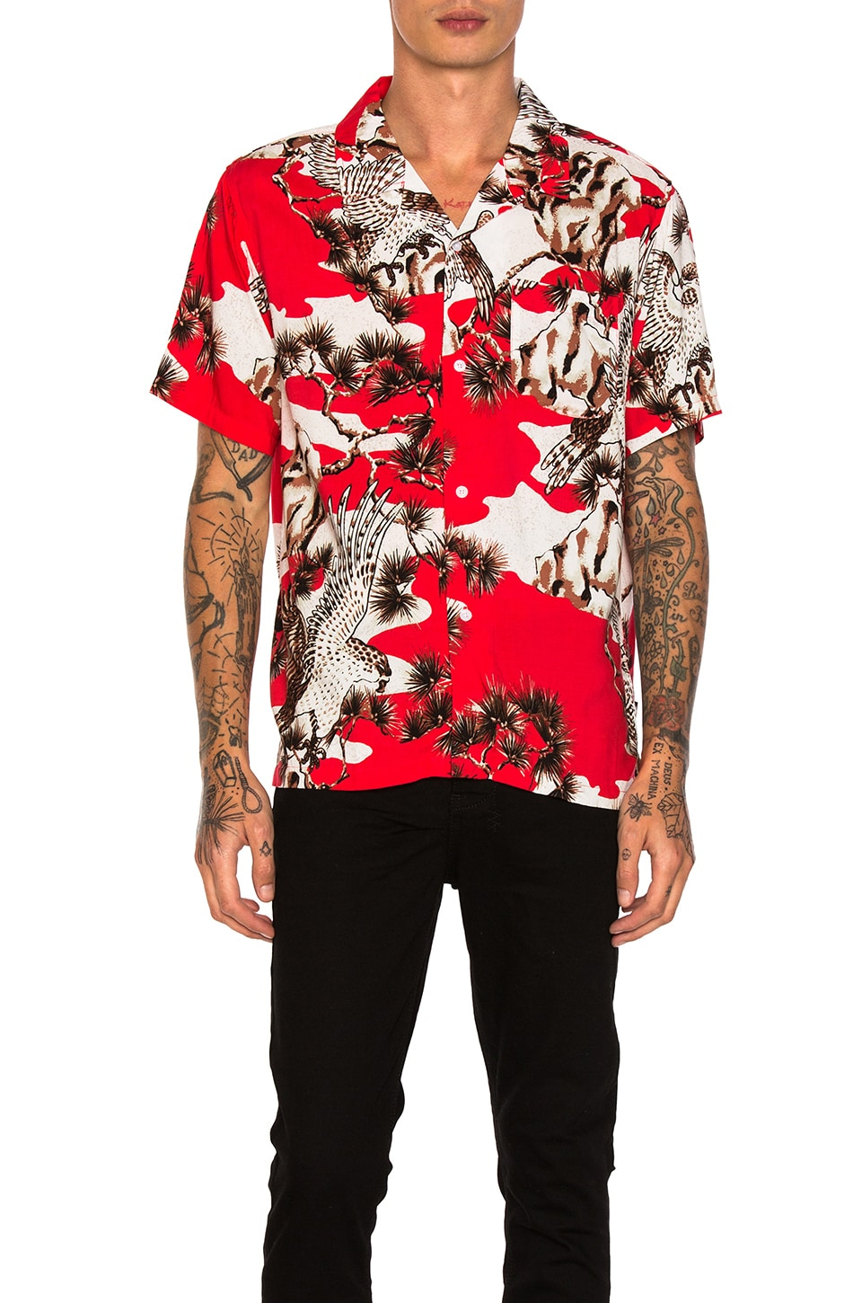Falcon Button Down by Stussy