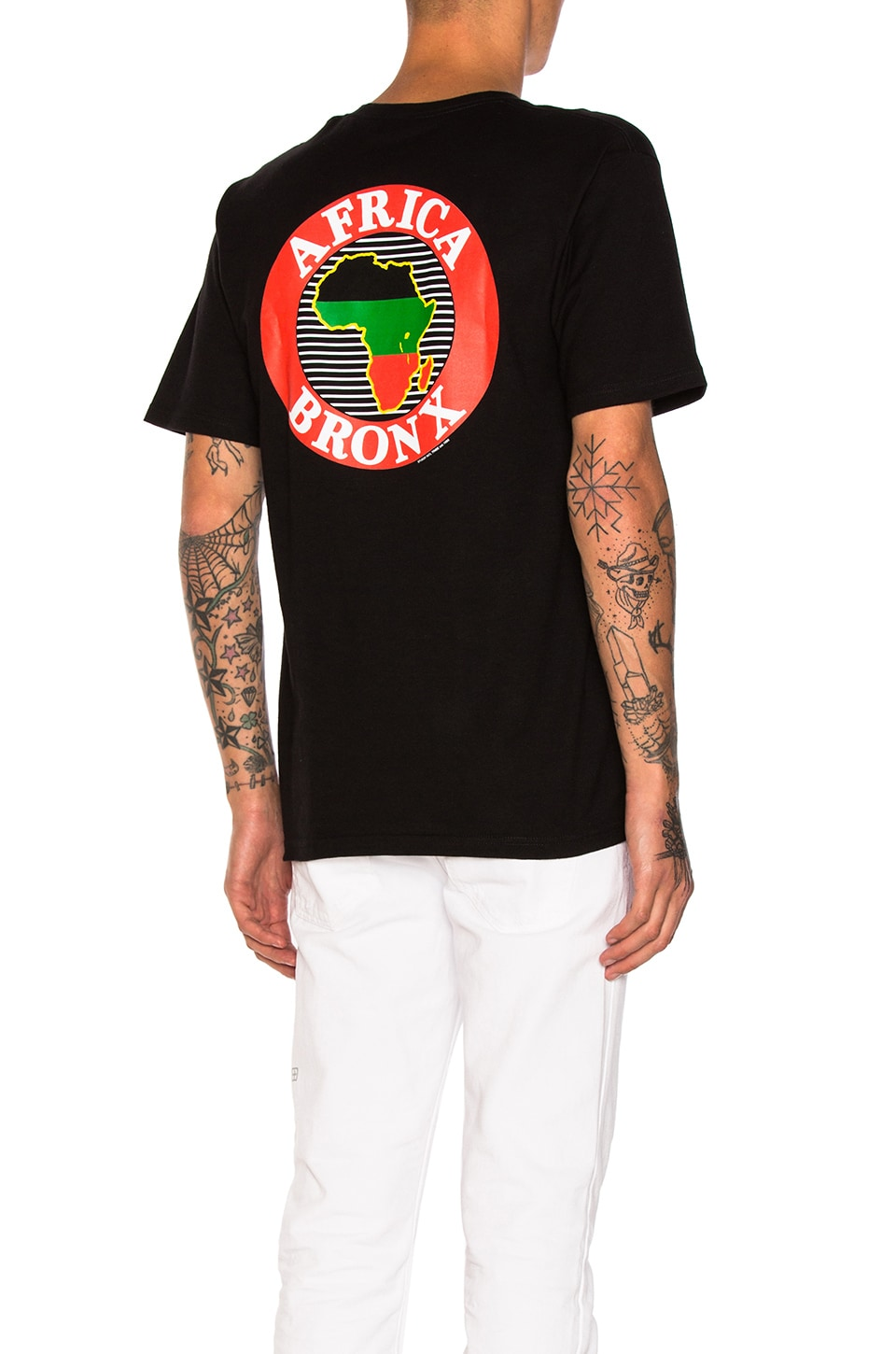 Africa Bronx Tee by Stussy