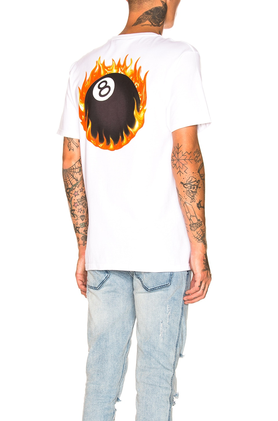 Stussy Fireball Tee in White