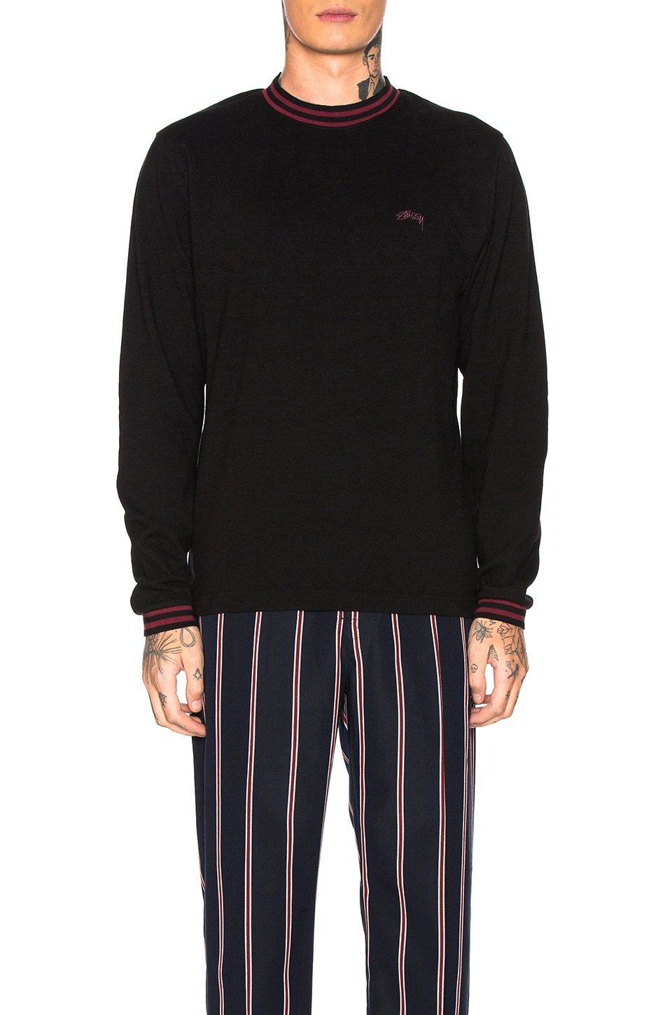 Stussy T-SHIRT MANCHES LONGUES BRODY