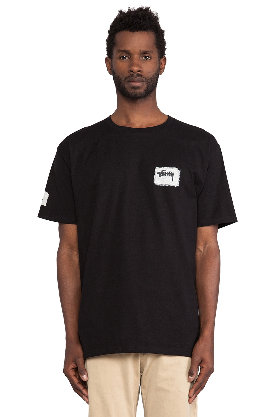 Stussy 8 Ball Stitch in Black