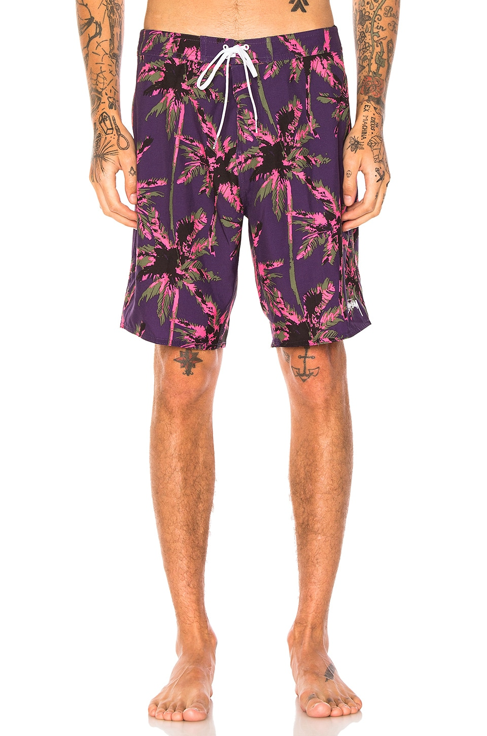 Dark Wild Palm Trunk by Stussy
