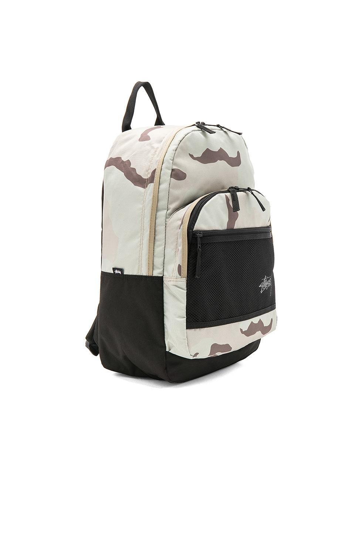 STUSSY Stock Desert Camo Backpack
