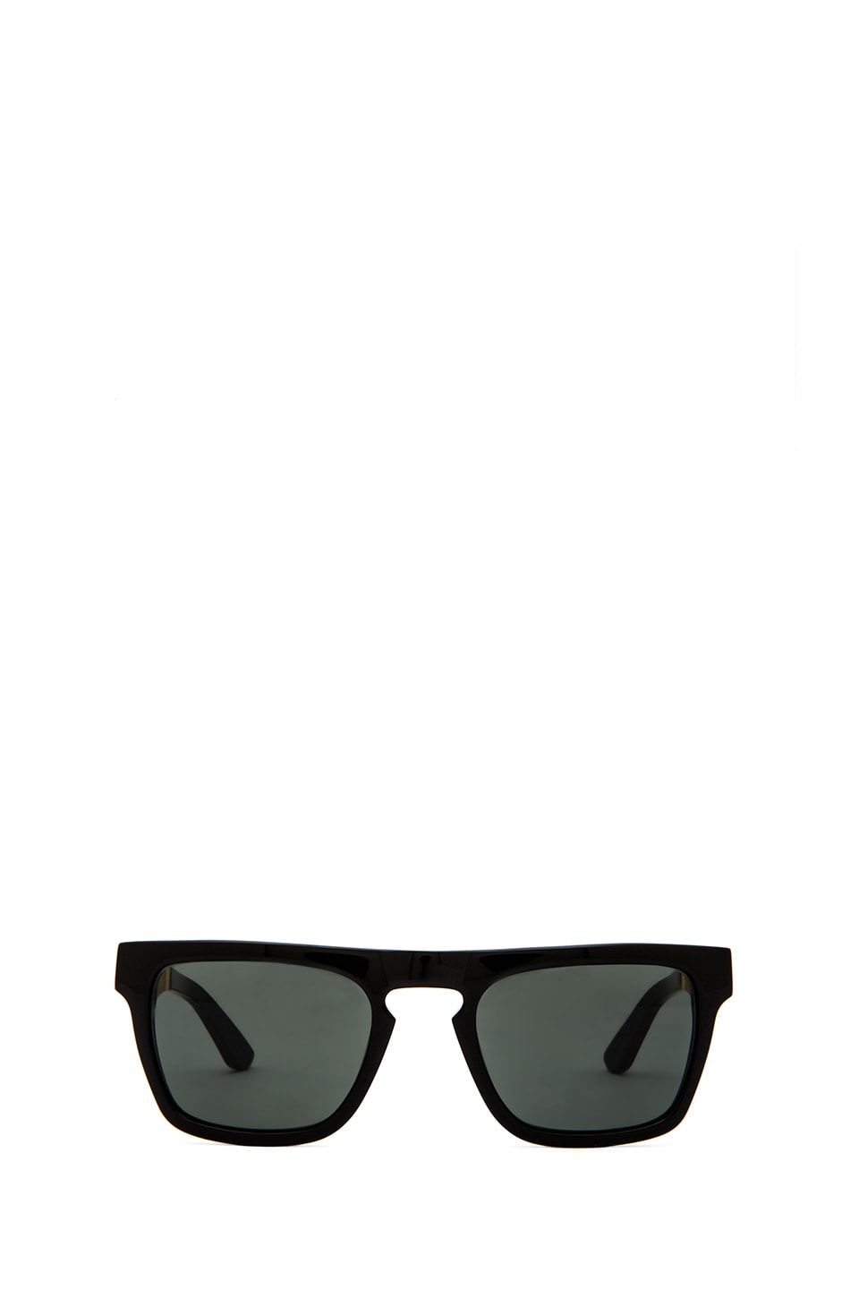 Stussy Louie Sunglasses in Black Gold/Black