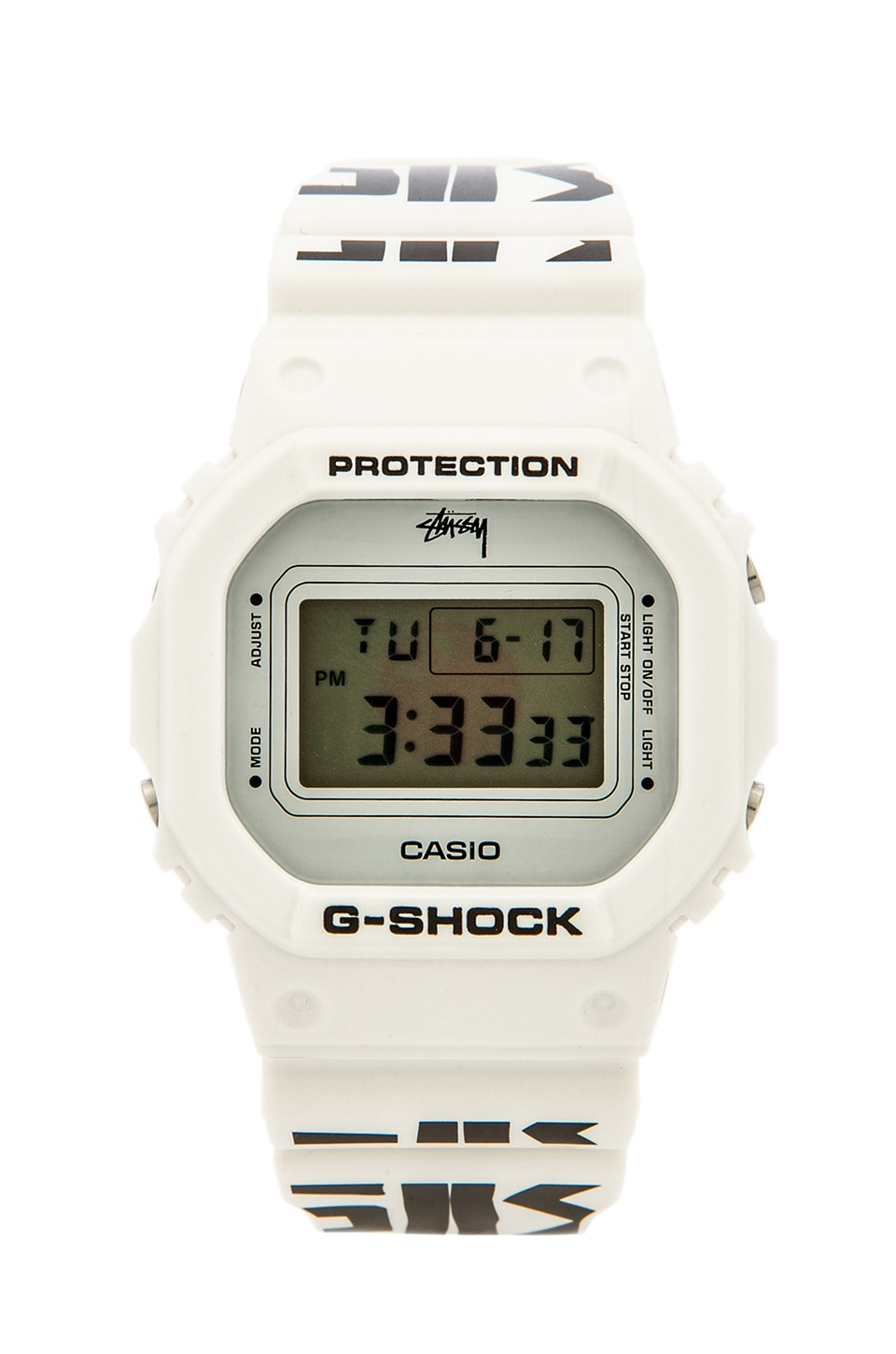 Stussy x G Shock World Cup Watch in White