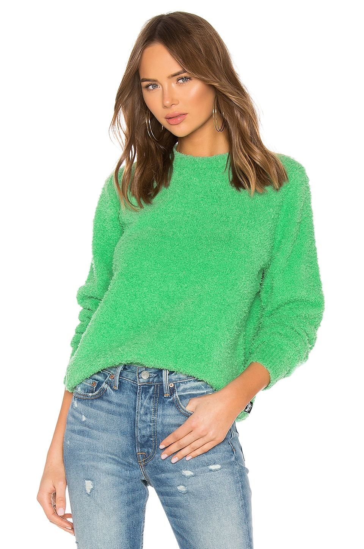 Stussy Floyd Scruffy Sweater in Green