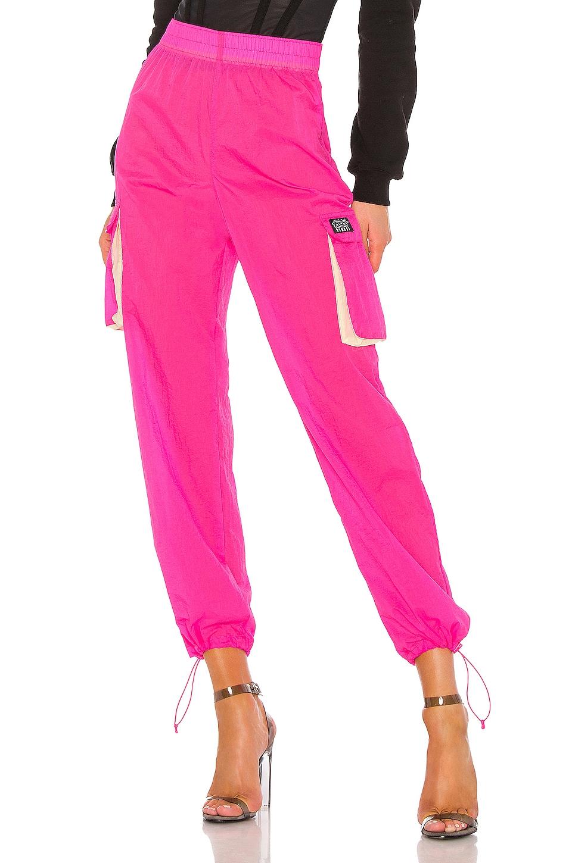 Stussy Aydin Nylon Crinkle Pant in Pink