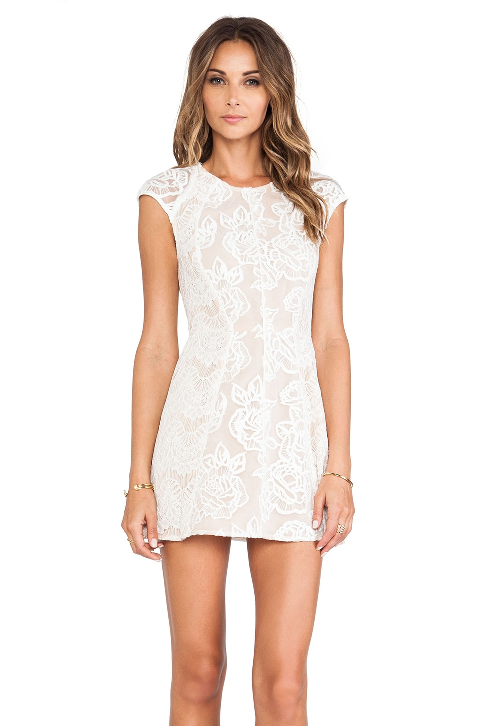 STYLESTALKER Your Summer Dream Dress in White