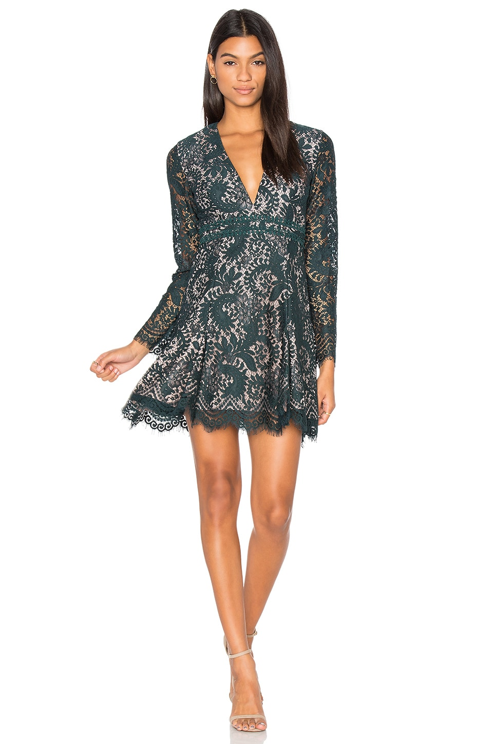 Davis Long Sleeve Dress by STYLESTALKER