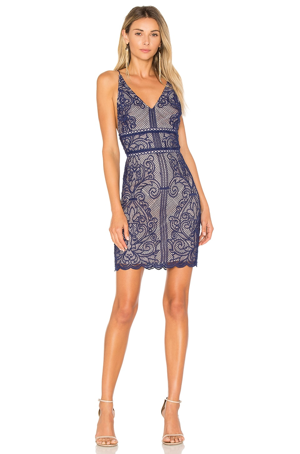 STYLESTALKER Stella Dress in Royal Blue