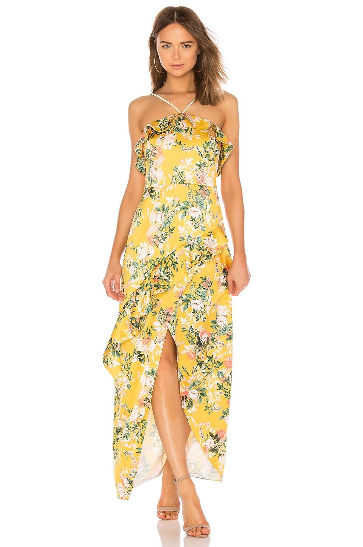 STYLESTALKER Isabella Maxi Dress in Isabella Floral