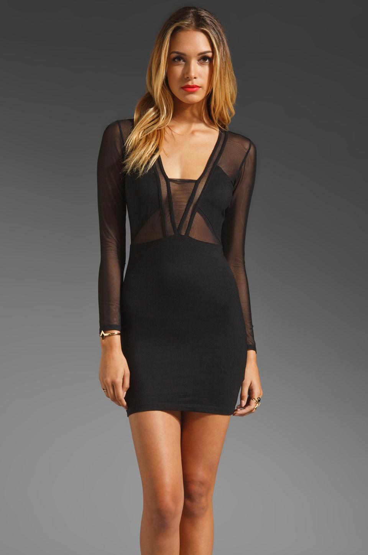 STYLESTALKER Seductive Dress in Black